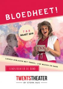 Poster Bloedheet (Oldenzaal)